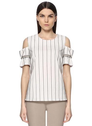 NetWork Bluz Beyaz
